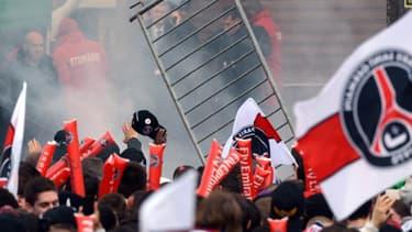 La fête du titre du PSG a dégénéré mardi au Trocadéro.