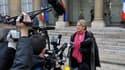 Michèle Alliot-Marie annonce le dépôt par la France et la Grande-Bretagne, devant le Conseil de sécurité des Nations-Unies, un projet de résolution prévoyant un train de sanctions contre la Libye/ Photo d'archive