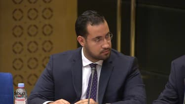 Alexandre Benalla face à la commission d'enquête du Sénat. - BFMTV