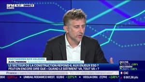 """Axel Pierron (Sustainalytics) : Le secteur de la construction répond-il aux enjeux ESG ? Peut-on encore dire que """"quand le bâtiment va, tout va"""" ? - 19/10"""