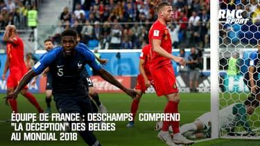 """Équipe de France : Deschamps comprend """"la déception"""" des Belges à la Coupe du monde 2018"""