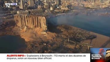 Explosions à Beyrouth: 113 morts et des dizaines de disparus, selon un nouveau bilan