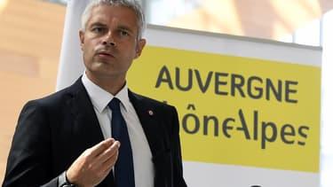 Laurent Wauquiez, président du Conseil régional de la région Auvergne-Rhône-Alpes.