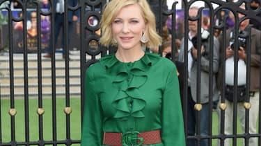 Cate Blanchett à Londres le 5 septembre 2018
