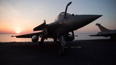 L'avion de combat Rafale, symbole de l'industrie française de la défense.