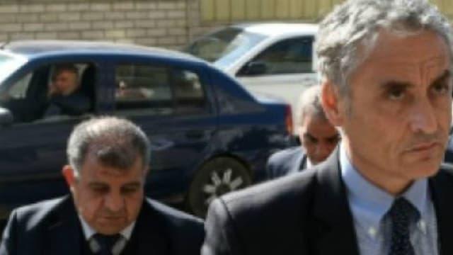 L'ambassadeur d'Italie en Egypte le 4 février 2016 à la morgue où le corps d'un étudiant italien a été amené - Mohamed El-Shahed-AFP