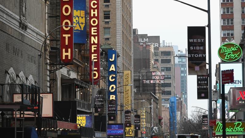 Broadway: le gouverneur de New York donne le feu vert pour une réouverture le 19 mai