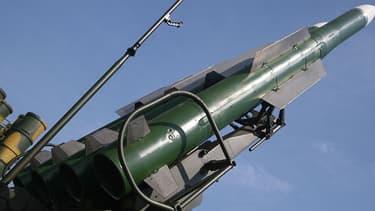 Un missile sol-air Buk-M2E.