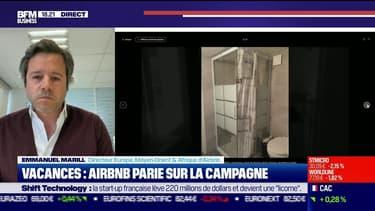 """Emmanuel Marill (Airbnb France): """"la semaine des annonces d'Emmanuel Macron, nous avons vu une nouvelle accélération au delà des 25%"""" de croissance des réservations"""