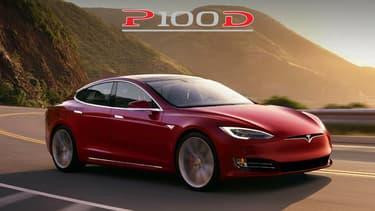 Une prochaine mise à jour va permettre à la plus puissante des Tesla Model S d'effectuer le 0 à 100 km/h en 2,4 secondes !