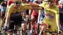 Roglic et Pogacar sur le Tour de France 2020