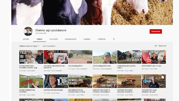 Etienne, agri youtubeurre