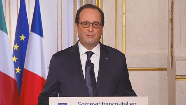 """""""Je me suis distingué de cette expression justement pour faire en sorte de bien comprendre à quoi on a affaire"""", a expliqué François Hollande."""