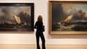 Des tableaux du peintre William Turner exposés à la Tate Britain de Londres, en septembre 2009.