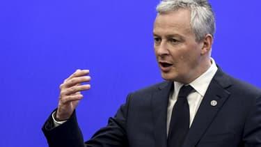 """Le ministre des Finances Bruno Le Maire  a pris la parole  pour exprimer """"une colère froide"""" face aux réticences que suscite cette taxe."""