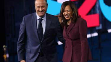 Douglas Emhoff et Kamala Harris en août 2020