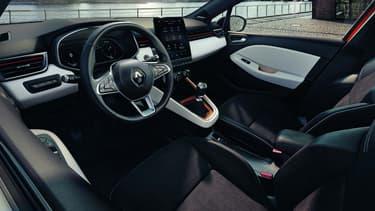 L'intérieur de la nouvelle Clio