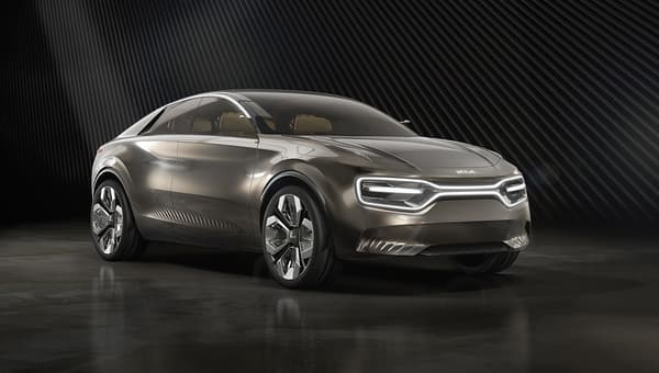 Le concept Kia Imagine, de l'extérieur...