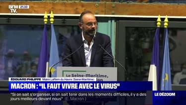 """Edouard Philippe: """"Je pense que nous allons affronter une tempête"""""""