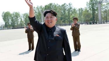 Le leader nord-coréen Kim Jong-un, en mai 2015.