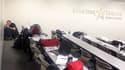 Le Lone Star college où s'est déroulée une fusillade, le 22 janvier 2013 près de Houston au Texas (USA)