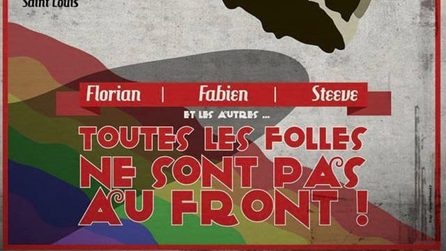 L'affiche de la gay pride  de Metz.
