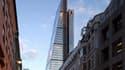 The Leadenhall Building, à Londres, Royaume Uni, est le seul gratte-ciel européen à avoirvu le jour en 2014.
