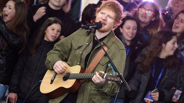 Ed Sheeran le 8 mars 2017