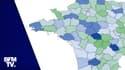 CARTE. Covid-19 : ces 36 départements où le taux d'incidence augmente depuis une semaine