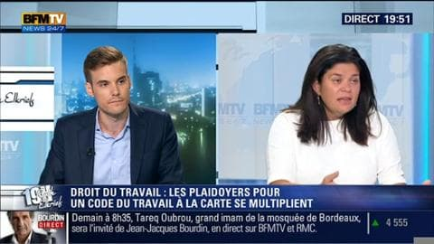 Raquel Garridoface à Robin Rivaton: Myriam El Khomri succède à François Rebsamen au ministère du Travail