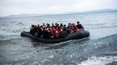 Plusieurs centaines de migrants ont disparu en mer, ce mercredi, au large de la Libye. (Photo d'illustration, datant de début juillet)