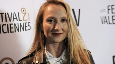 Audrey Lamy au festival de cinéma de Valenciennes, le 16 mars 2016