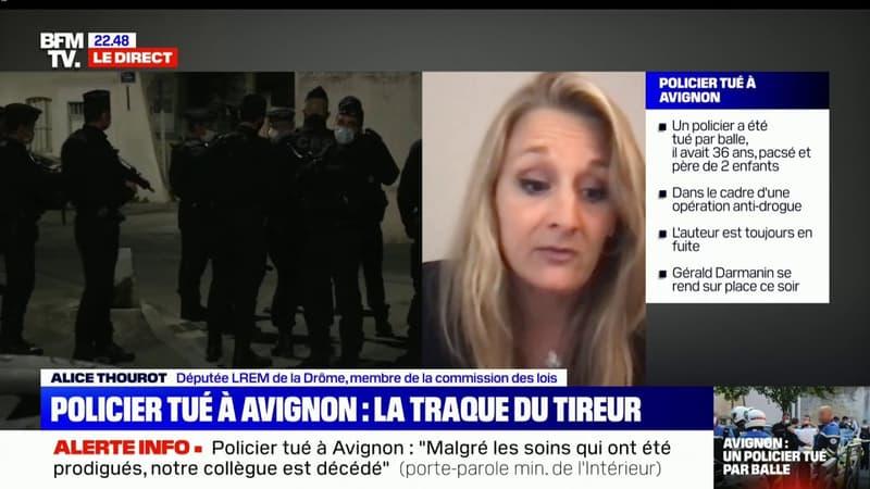 """Alice Thourot: """"Les élus du Rassemblement national ne sont jamais là quand il faut voter avec nous des mesures pour protéger nos forces de l'ordre"""""""