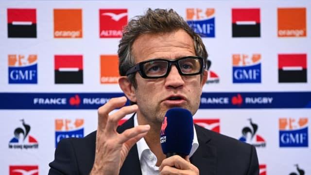 Le sélectionneur de l'équipe de France de rugby, Fabien Galthié.