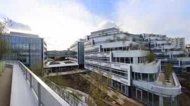 Le système de géolocalisation supervise les allées et venues des salariés du campus de Gentilly, site inauguré en juin 2015 par Sanofi.