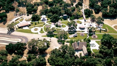 Neverland, à Los Angeles.