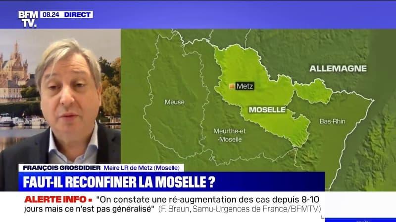François Grosdidier, maire de Metz: