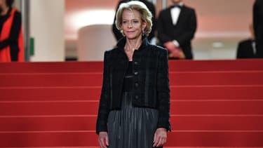 La présidente du CNC Frédérique Bredin lors du festival de Cannes