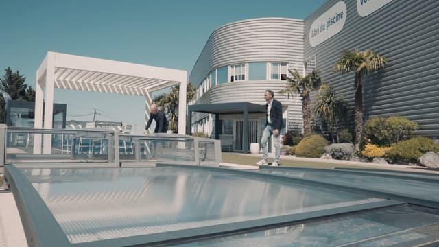 Azenco propose des solutions pour abriter les piscines