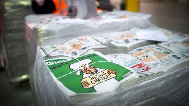"""Après le numéro dit """"des survivants"""" (ici en photo), un nouveau numéro de Charlie Hebdo doit reparaître mercredi."""