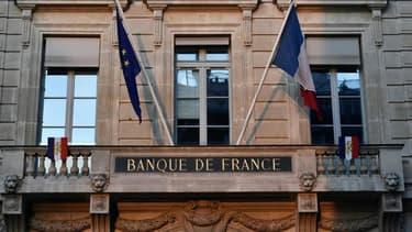 Le siège de la Banque de France à Paris le 15 janvier 2020