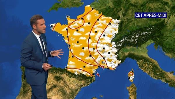 La météo du mercredi 9 juin après-midi.