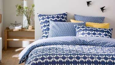 Promotions sur le linge de lit chez La Redoute
