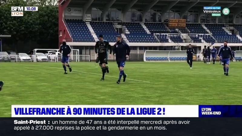 Villefranche à 90 minutes de la Ligue 2 !