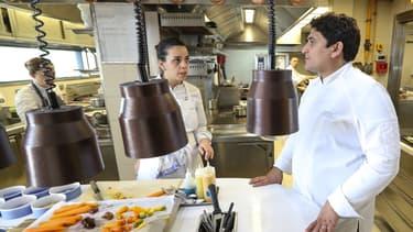 Le chef Mauro Colagreco au Mirazur, élu meilleur restaurant du monde