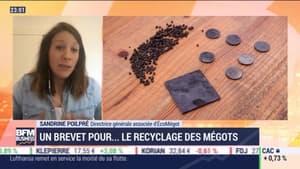 Recyclage des mégots