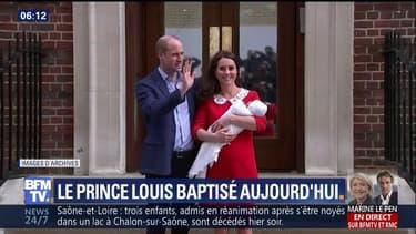 Famille royale: le prince Louis va être baptisé aujourd'hui