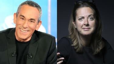 Thierry Ardisson et Charline Vanhoenacker