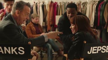 """Tom Hanks et Carly Rae Jepsen dans """"I really like you"""""""