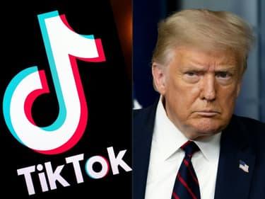 """Le président américain Donald Trump exige qu'une partie de la transaction relative à la vente éventuelle de TikTok soit versée dans """"les caisses de l'Etat""""."""